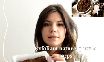 Gommage écologique, facile, rapide et économique avec du marc de café pour le corps!