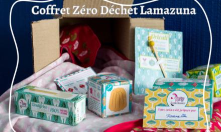 On teste les produits Lamazuna avec le « balluchon zero déchet » !