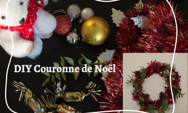 Décorations fait maison et éco-responsable : la fameuse couronne de Noël pour porte d'entrée !