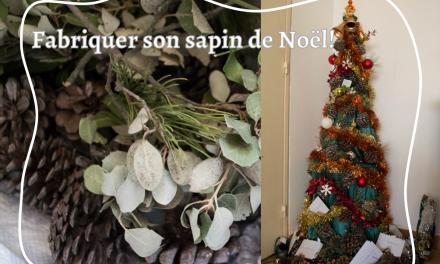 Un sapin de Noël éthique et zéro déchet: un DIY pour faire son sapin soi-même