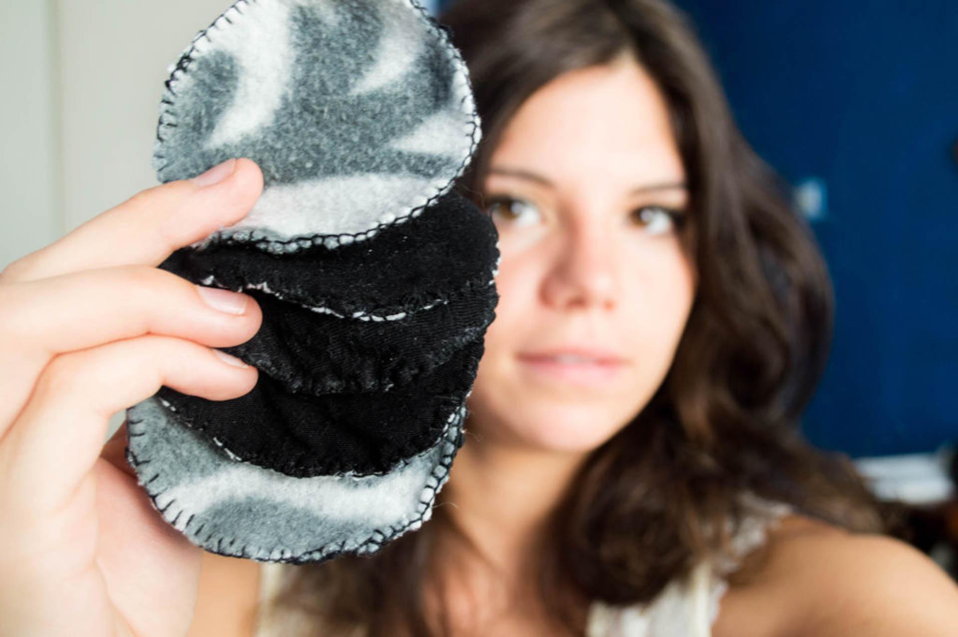 fabriquer ses disques à démaquiller zéro déchet diy fabriquer ses lingettes démaquillantes