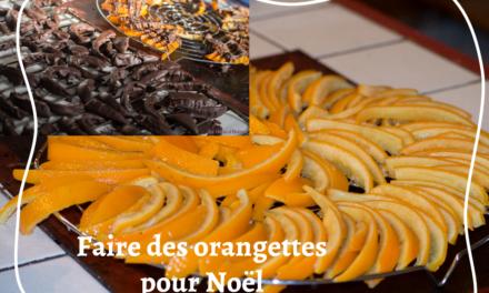Faire des orangettes soi-même pour une idée repas ou cadeau de Noël
