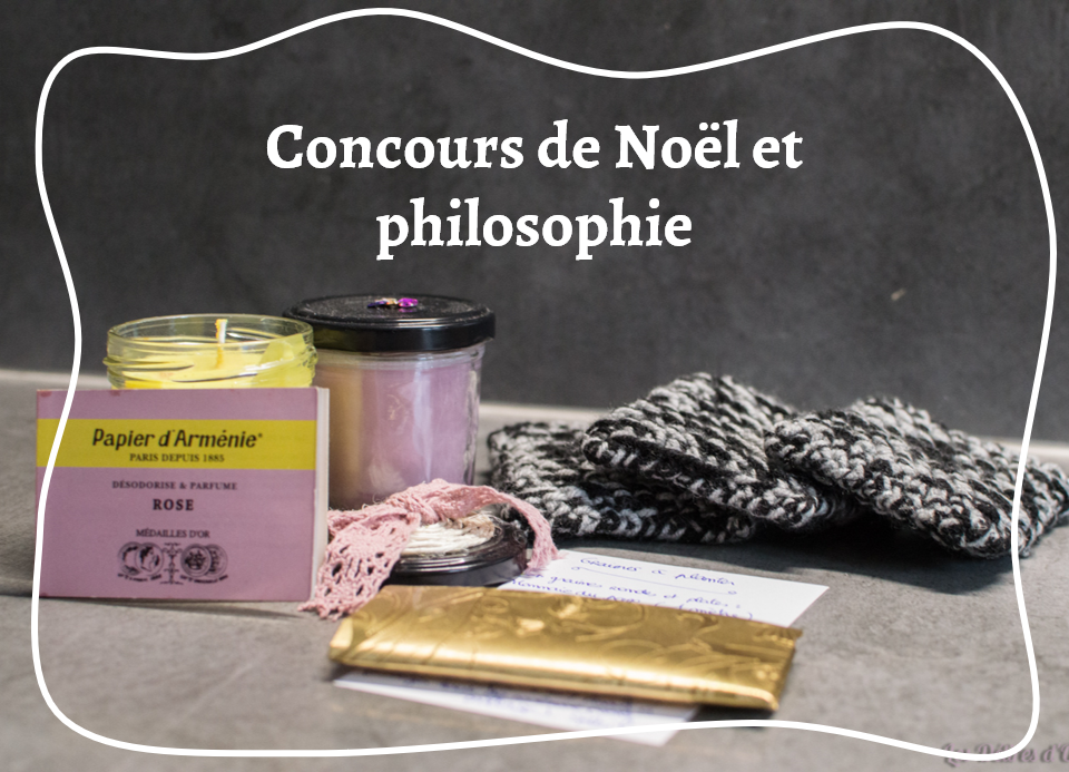 concours de Noël et philosophie