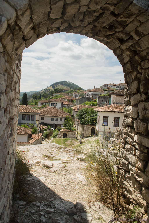 Berat Paysages d'Albanie Albanian landscape castle