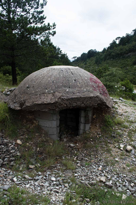 Bunkers Zhuke-Grykeshqipe Paysages d'Albanie Albanie Riviera Albanaise Paysages Albanie Albanian landscape