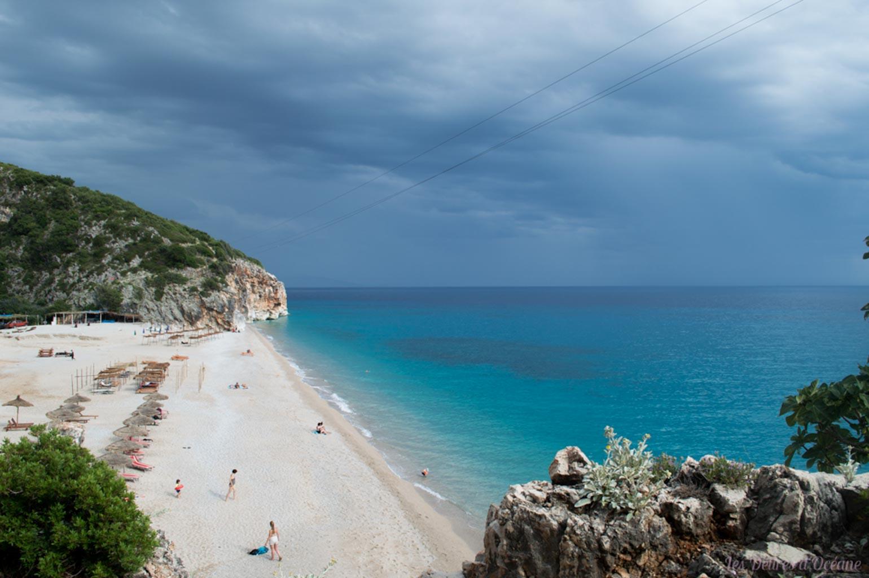 Gjipe Beach Riviera Albanaise Paysages d'Albanie Albanie Riviera Albanaise Paysages Albanie Albanian landscape