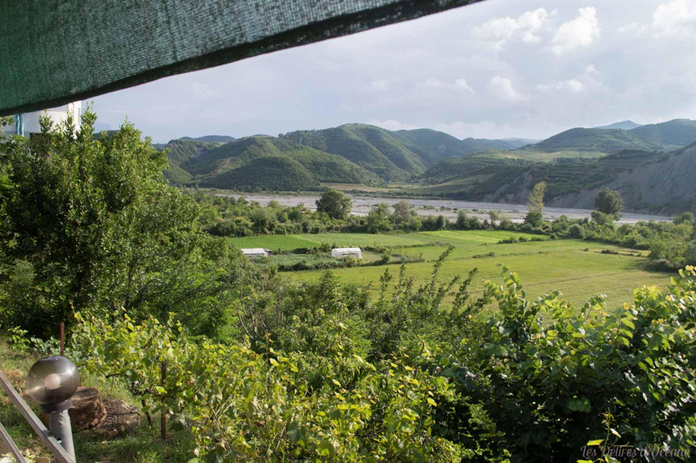 Gramsh Paysages d'Albanie Albanian landscape