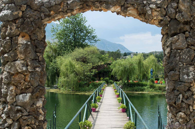 Gjirokaster Lake Paysages d'Albanie Albanian landscape
